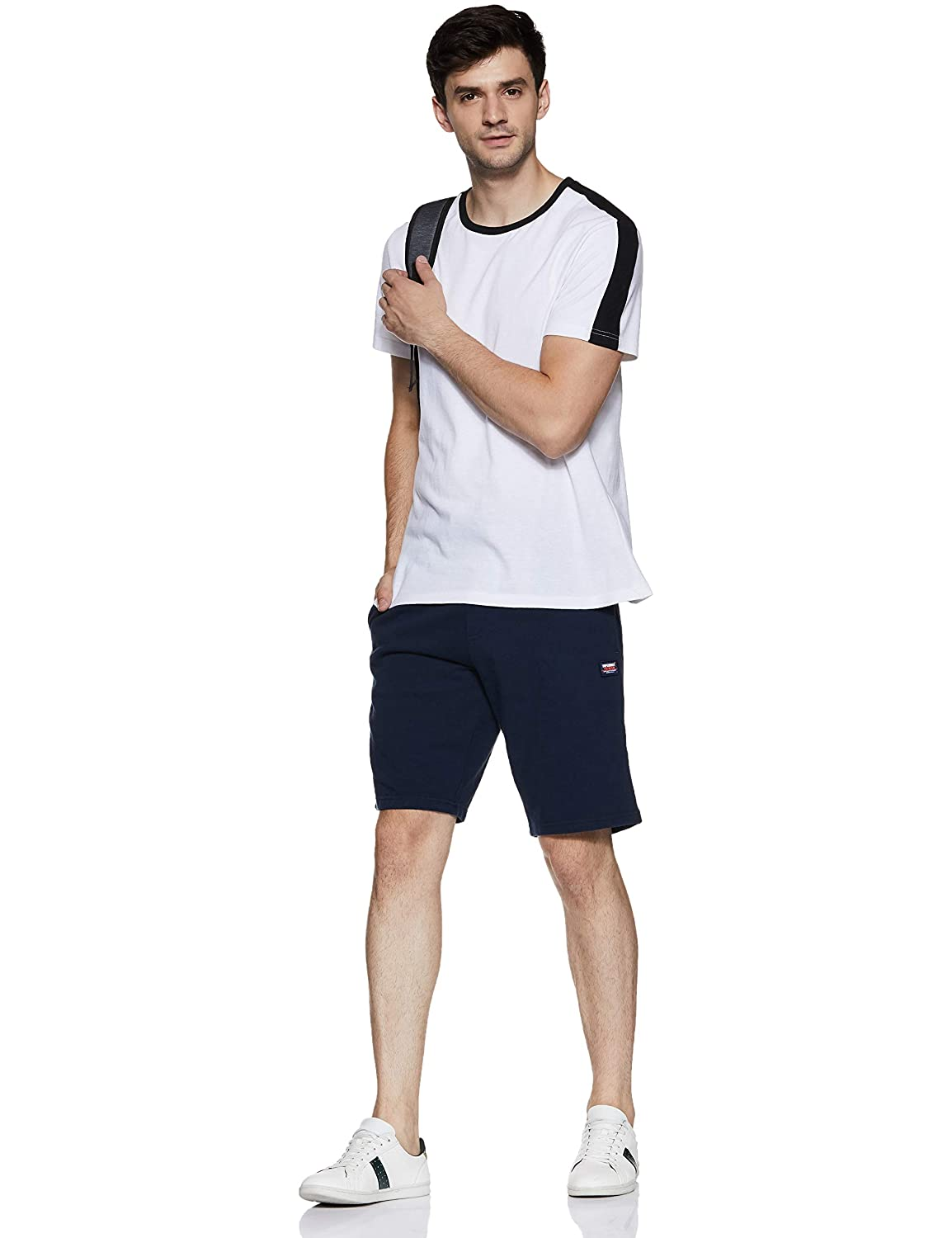 Superdry Originali Shorts Spiaggia Navy