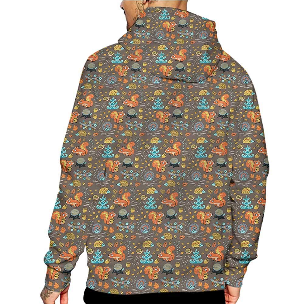 flybeek Hoodies Sweatshirt Pockets Doodle,Daisies Butterflies,Sweatshirts for Boys