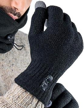 Tarjane Display Touchscreen Winterhandschuhe Damen Handschuhe Strick Gloves extra warm TOG 1.9