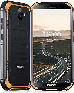 DOOGEE S40 Movil Todoterreno 4G, Admite NFC y Android 9.0, Batería ...