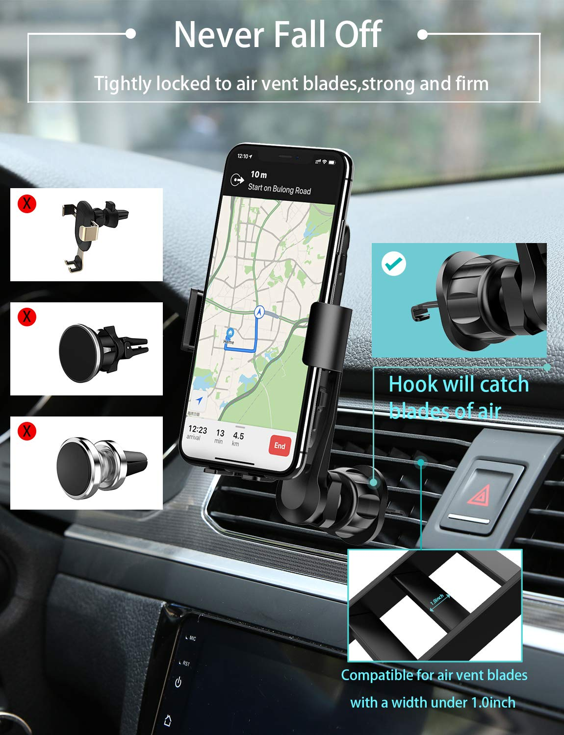 Audio & Video Accessories Automotive Wireless Car Charger MANKIW ...