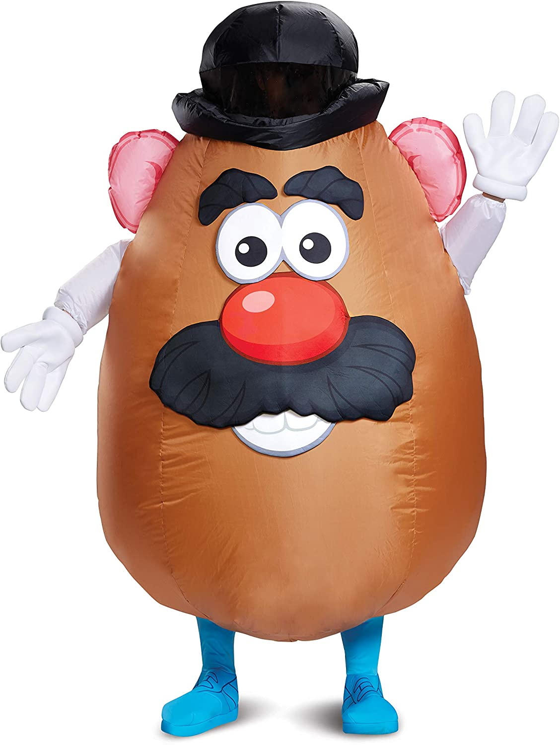 Men's Mr. Potato Head Inflatable Costume