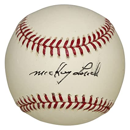 3099805066a Mickey Lolich Autographed Signed Rawlings Official Major League Baseball  Baseball - Slight Smudge on Signature -