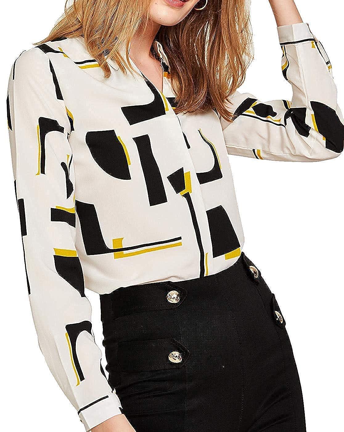 White2 Milumia Women's Contrast Stripe color Block Knit Top Long Sleeve TShirt