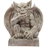 Garden Gargoyle Hand on Chin 32cm