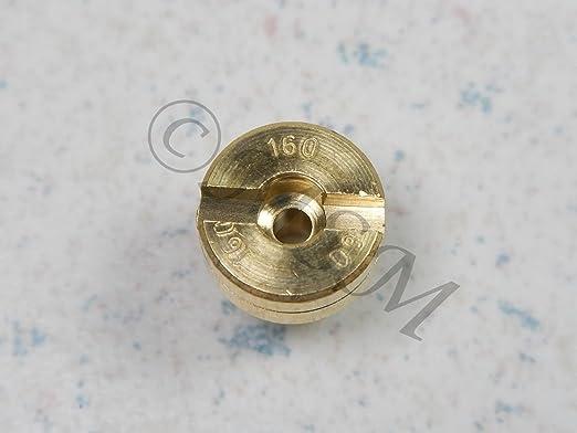 NEW K/&L MIKUNI CARB CARBURETOR N100//604 LARGE ROUND MAIN JET #160 18-4396