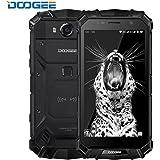 "DOOGEE S60 IP68 Smartphone libre - Impermeable Antipolvo Antigolpes 4G Android 7.0 Nougat Resistente Móvil libre, 5.2""HD, Helio P25 Octa-core, 6GB RAM+64GB ROM -Negro"