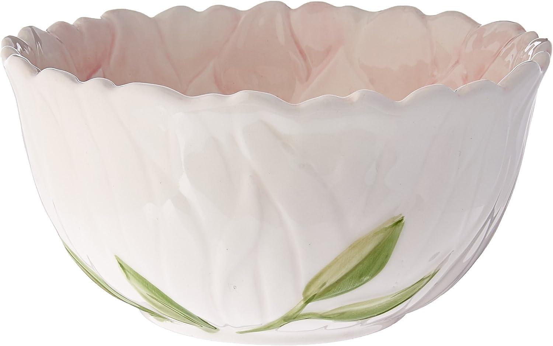 Mikasa Silk Floral Pink Bowl, 6-Inch