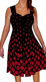 38a93571ebd Funfash Plus Size Women Black White Slimming A Line Midi Cocktail Cruise  Dress