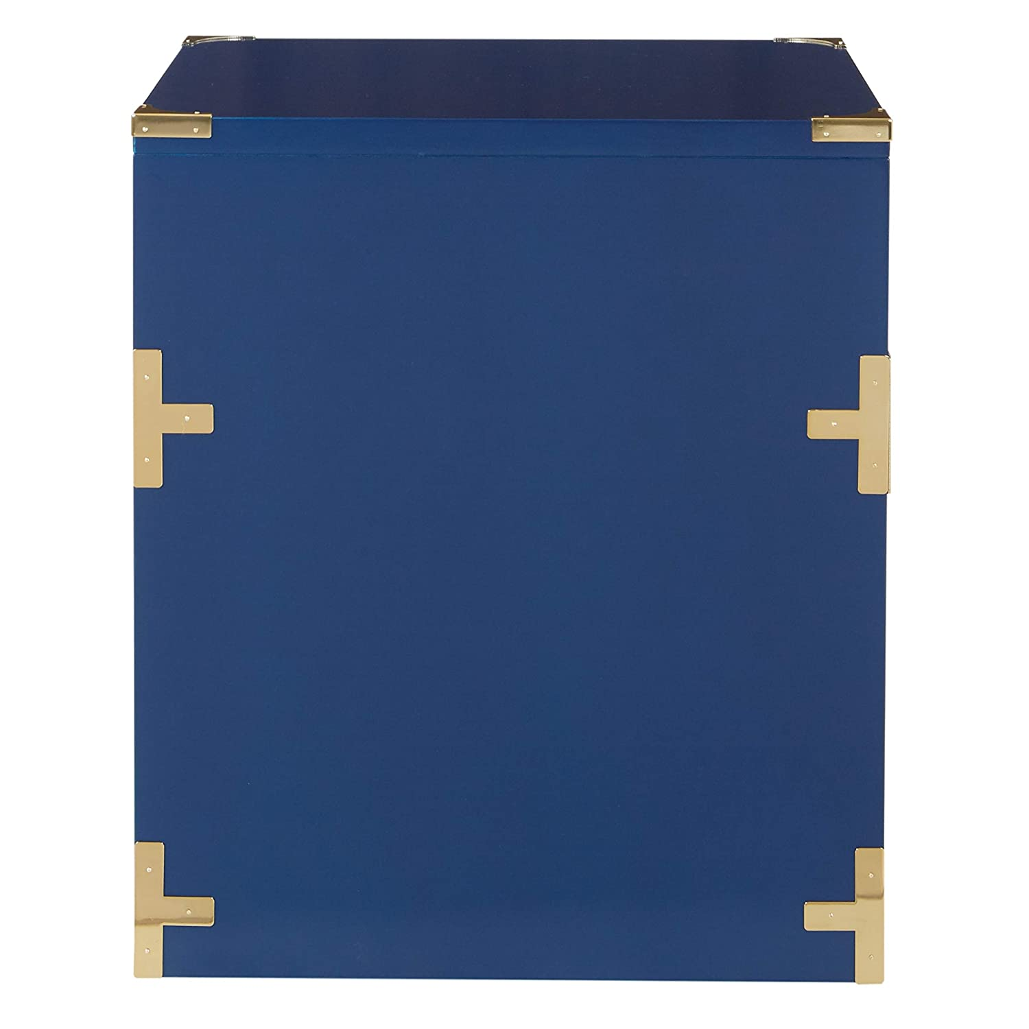OSP Home Furnishings Wellington 2 Drawer File Cabinet Lapis Blue