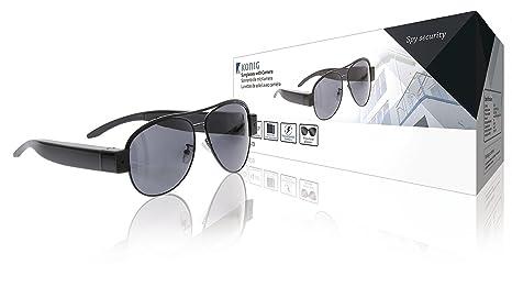 Amazon.com: Konig – Gafas de sol con cámara integrada [sas ...
