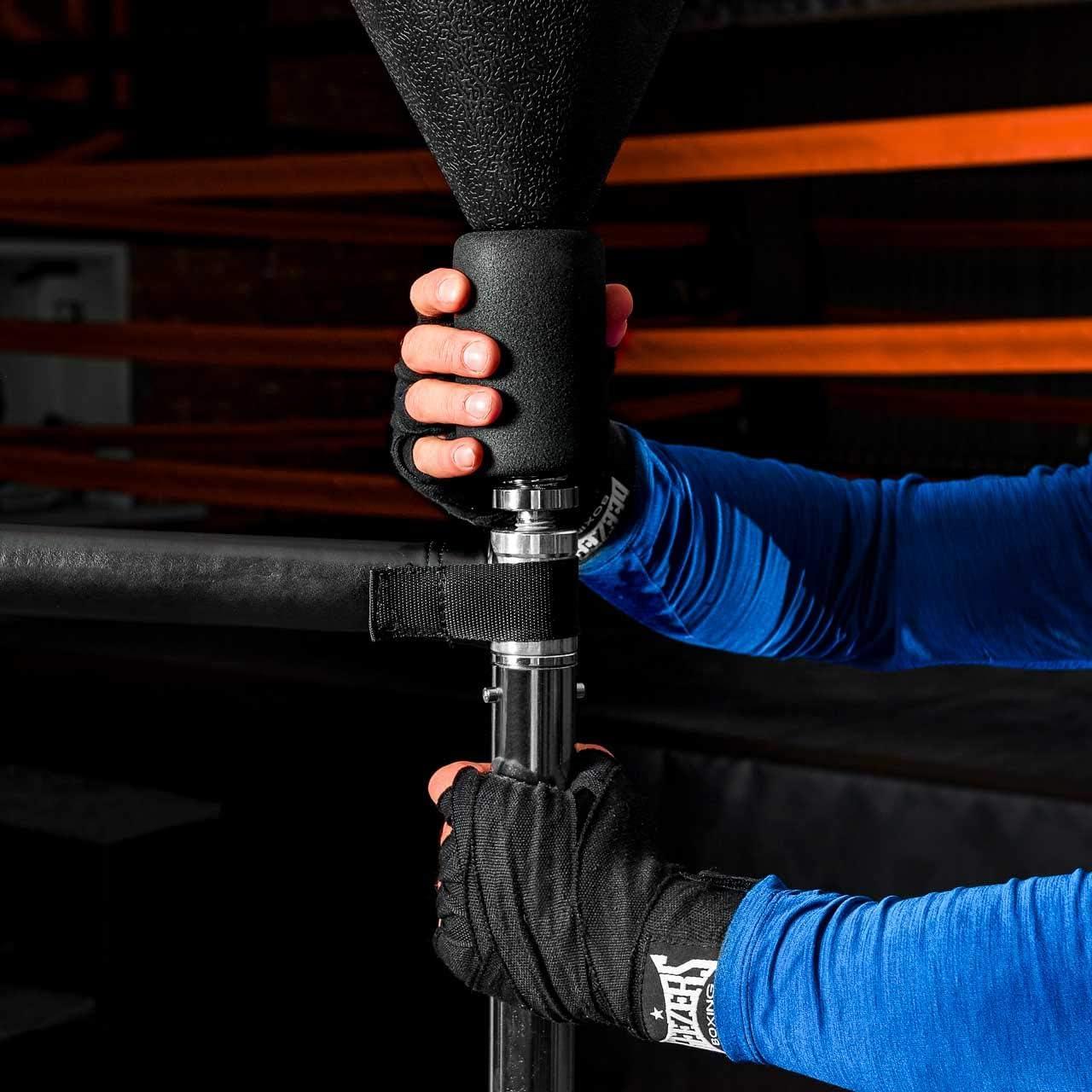 Metis non associate Sacco veloce3IN1 regolabile Boxe Punch Reflex Palla Home//Palestra