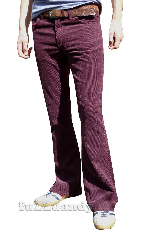 Mens bootcut corduroy pants