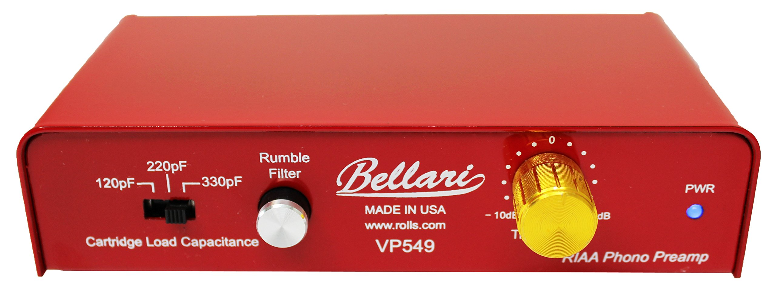 Rolls Bellari VP549 Phono Preamplifier by rolls