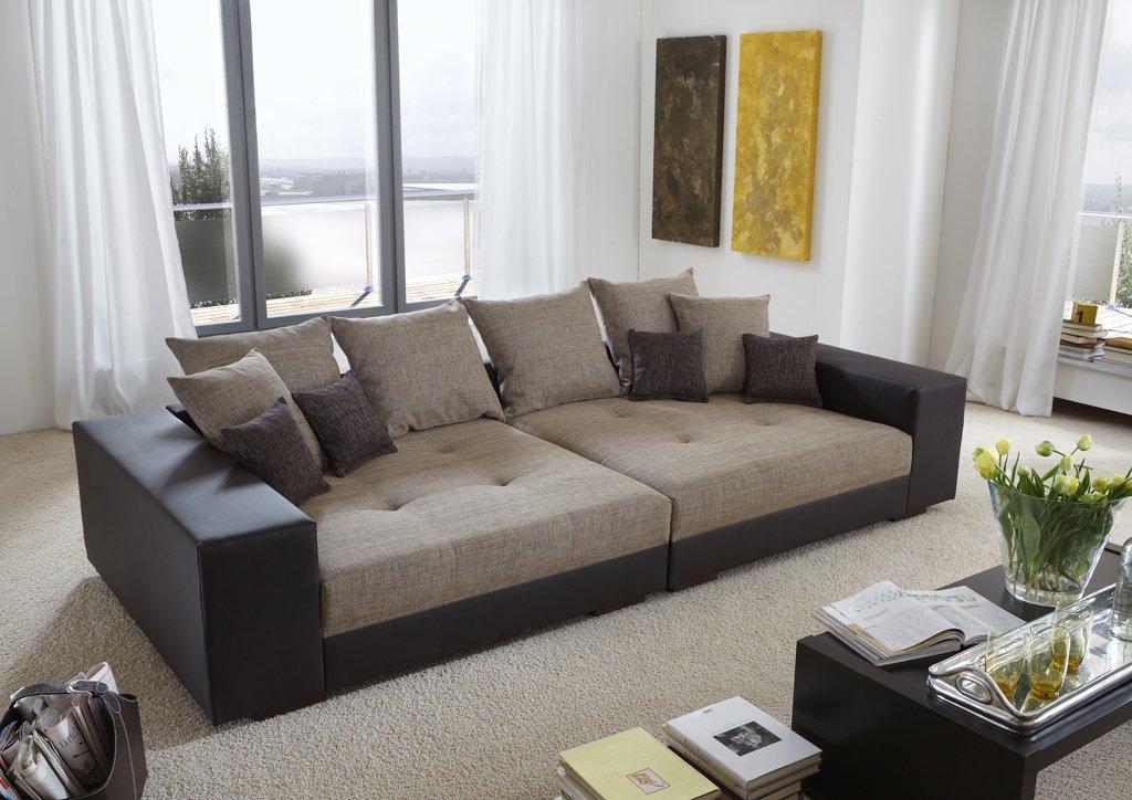 Big Sofa exclusiv – Made in Germany – Freie Farbwahl aus unserem Kunstleder Sortiment. Die stylische Doppelziernaht steht in über 100 Farben zur Verfügung. Nahezu jedes Sondermaß möglich! Sprechen Sie uns an. Info unter 05226-9845045 oder info@highlight-polstermoebel.de