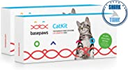 Basepaws | Cat DNA Test | 2 Kits Pack | Breed & Health Reports | Wildcat Index | 39 Health Markers | 17 Genetic Diseases | As Seen On Shark Tank