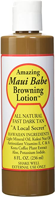 Maui Babe Browning Lotion, 8-Fluid Ounce