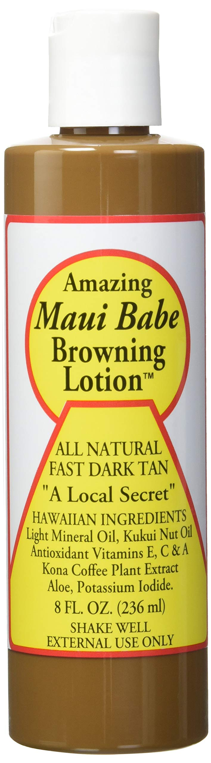 Maui Babe Browning Lotion 8 Ounces by Maui Babe