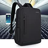 Pine Slim Laptop Backpack with USB Charging