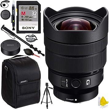 Sony sel1224g FE 12 - 24 mm f4 G Ultra gran angular con montura ...