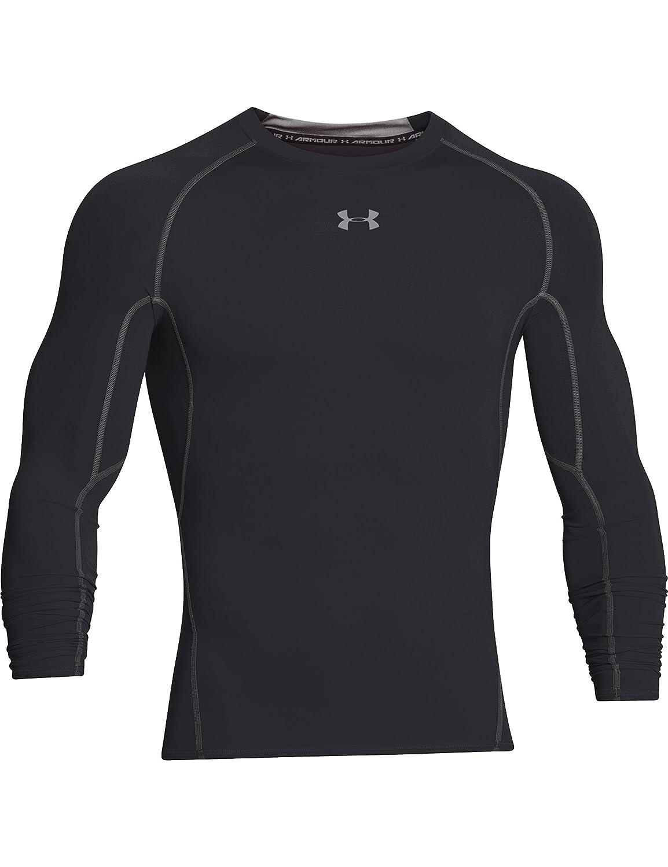 Under armour men 39 s heatgear long sleeve compression shirt for Under armour half sleeve shirt