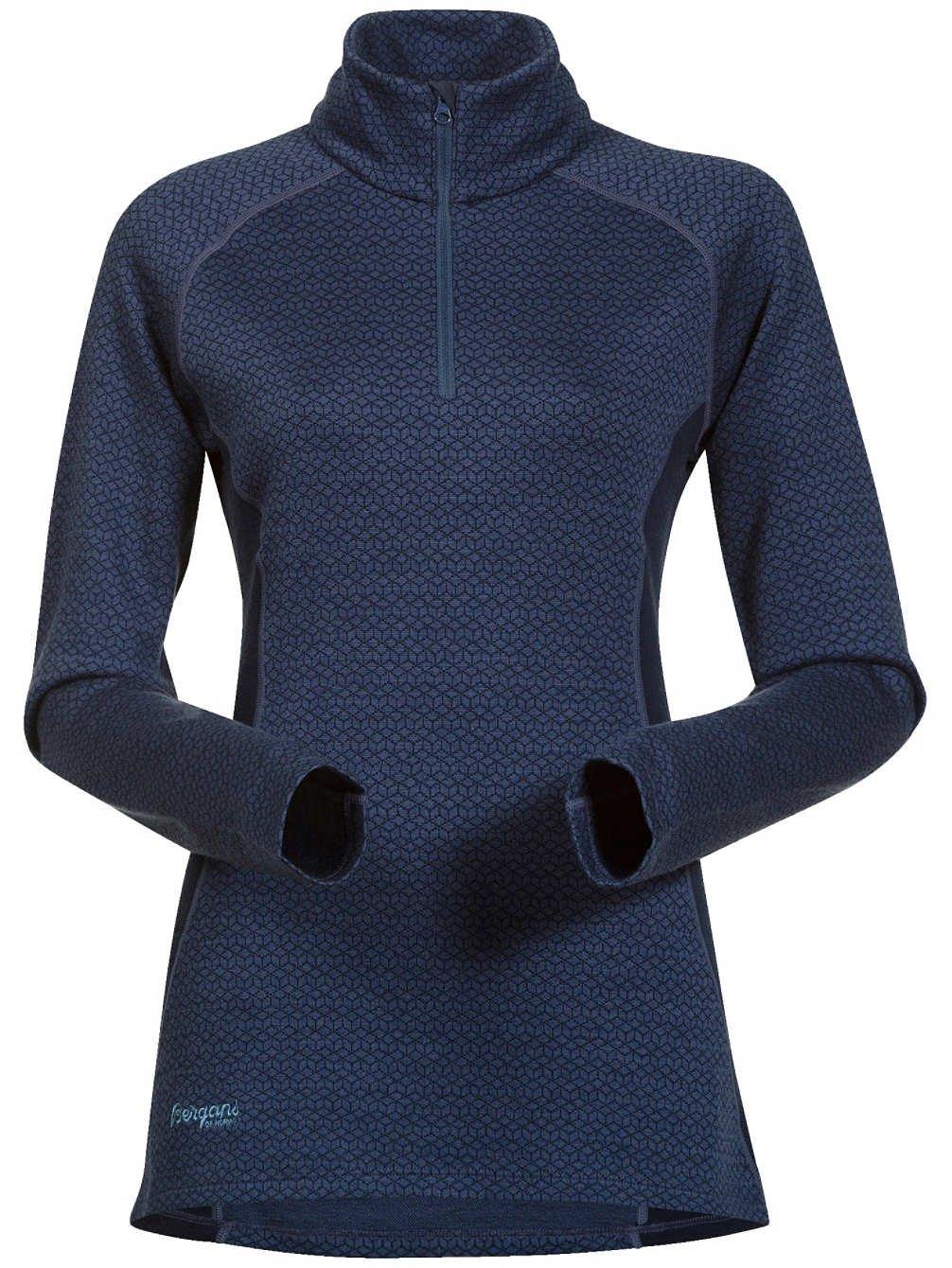 Bergans Snoull Lady Half Zip Longsleeve Shirt - 290er Merinowolle Thermounterwäsche