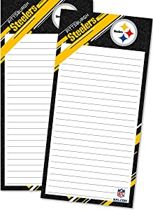 Turner Sports Pittsburgh Steelers 2 Pack List Pad (8129108)