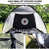 Golf Practice Tent, Outdoor Foldable Target Training Portable Golf Practice Net Tent