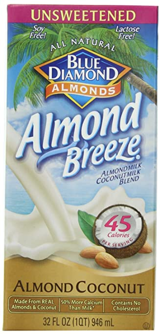 6. Almond Breeze Almondmilk, Almond and Coconut Blend