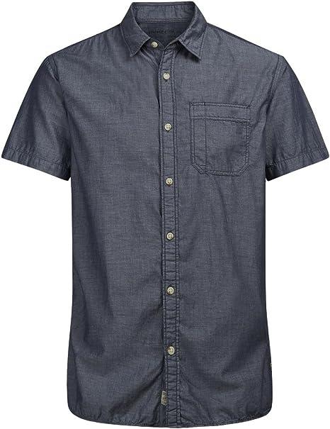 JACK JONES Camisa m/c varuco Hombre Camisas: Amazon.es: Deportes y aire libre