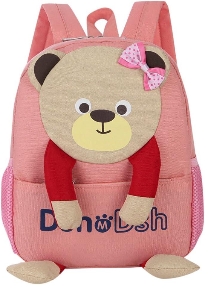 Mochilas para niñas para la escuela, venta barata para niños y niñas, bolsa con patrón de oso de dibujos animados