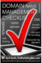 Domain Name Management Checklist Kindle Edition