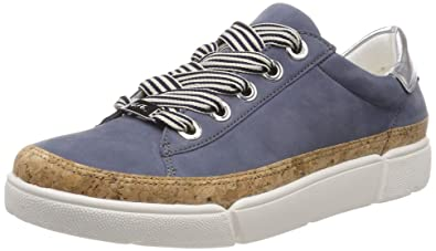 343122338d3687 ARA Damen ROM 1214404 Sneaker Blau (Jeans