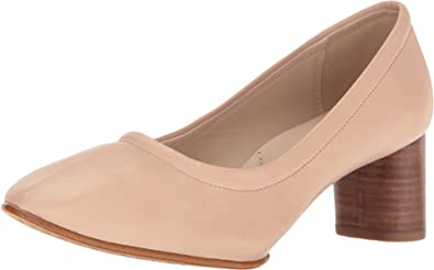 Clarks Women's Grace Isabella Nude Pink Leather 9 B US