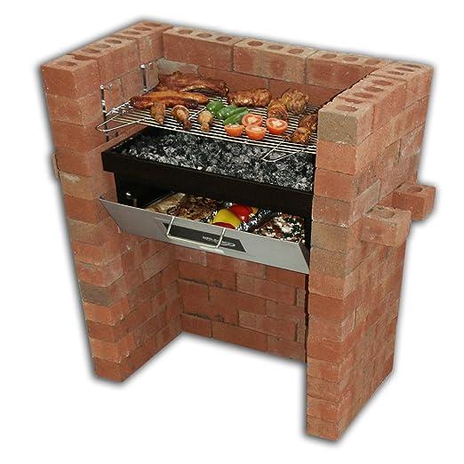 Construido en - parrilla de barbacoa y horno con horno y parrilla ...