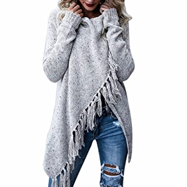 Womens Pullover Jumper Sweaters Ladies Poncho Cape Tops Coats Cardigans Outwear