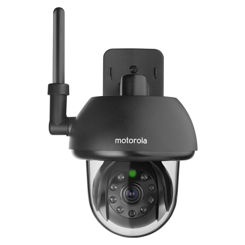 Motorola Wi-Fi Tier Überwachungskamera fur den Außengebrauch - SCOUT 73 - schwarz