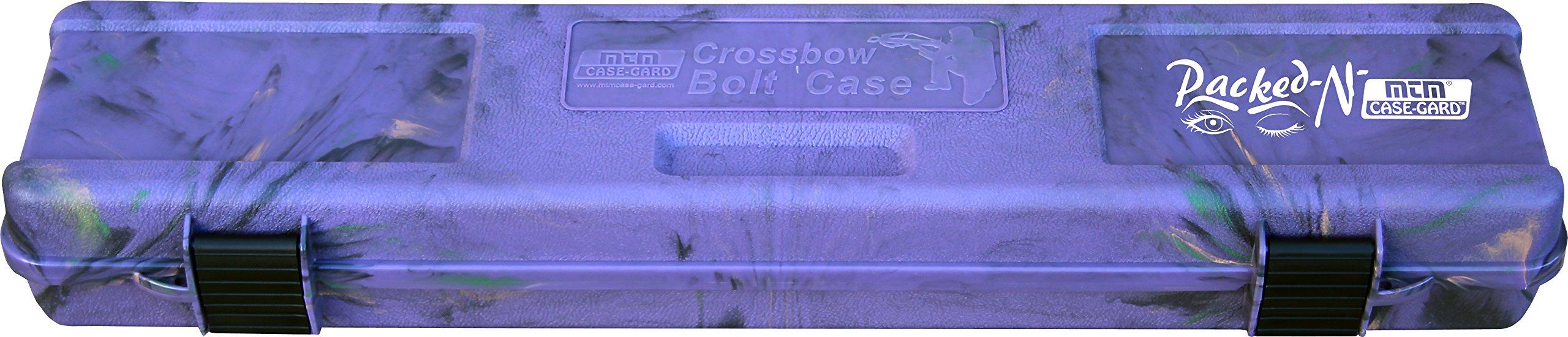 MTM Crossbow Bolt Case (Purple Camo) by MTM