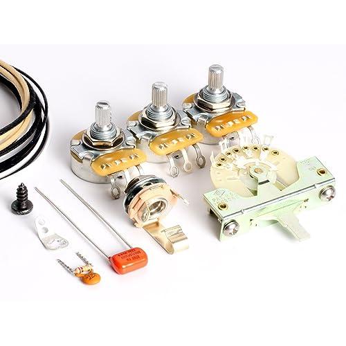 guitar wiring kit. Black Bedroom Furniture Sets. Home Design Ideas