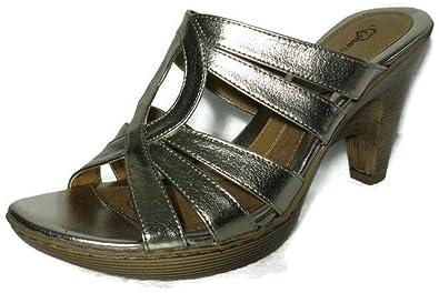 1e4e8a78c054 I Love Comfort Women s High-Heels Sandal - Metallic Gold (9.5)