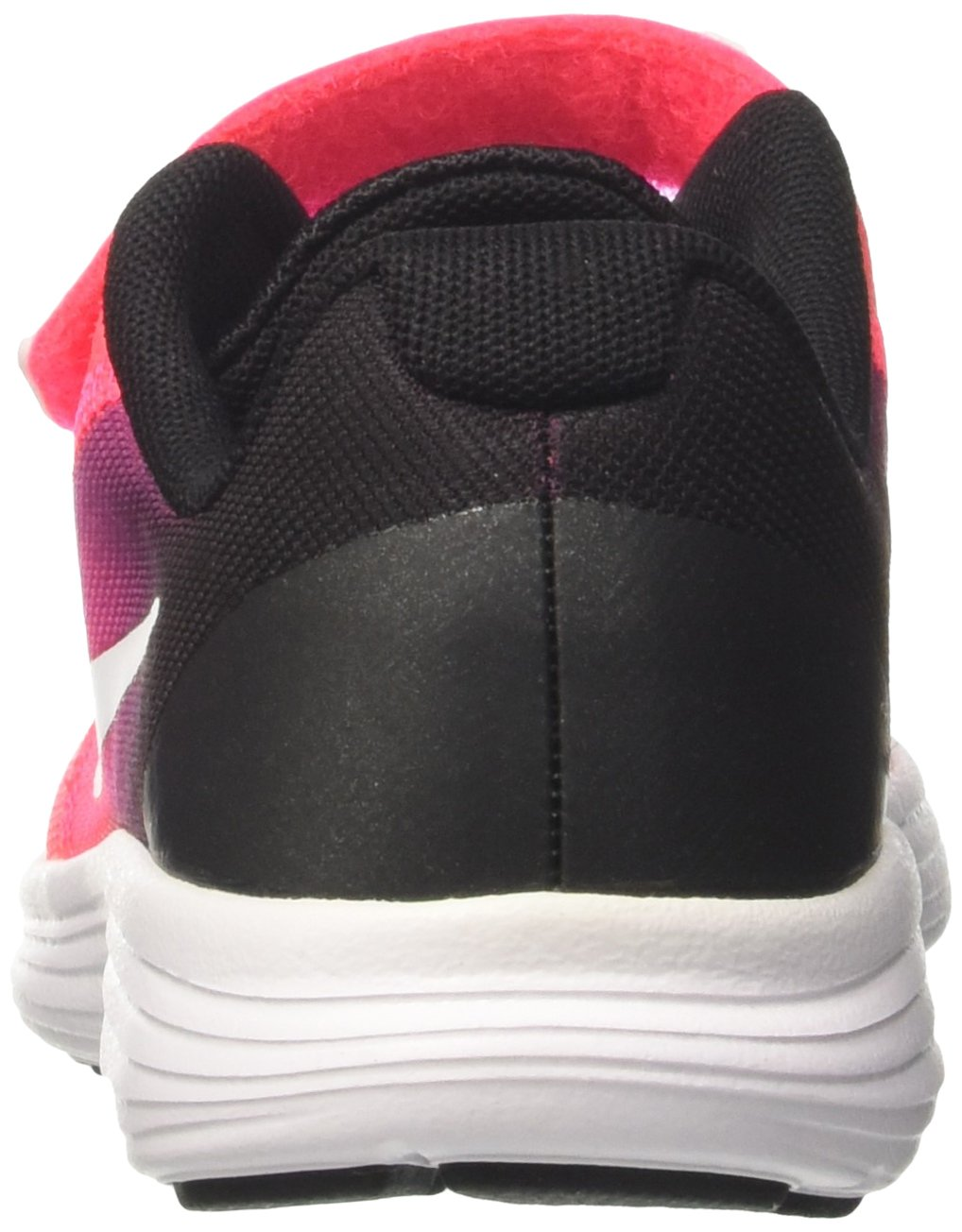 NIKE Kids' Revolution 3 (Psv) Running-Shoes, Black/White/Racer Pink/Black, 1 M US Little Kid by Nike (Image #2)