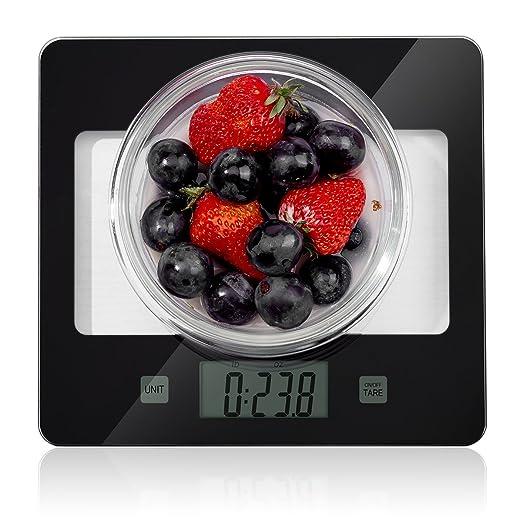 Finesseur Precision - Báscula digital para cocina: Amazon.es: Hogar
