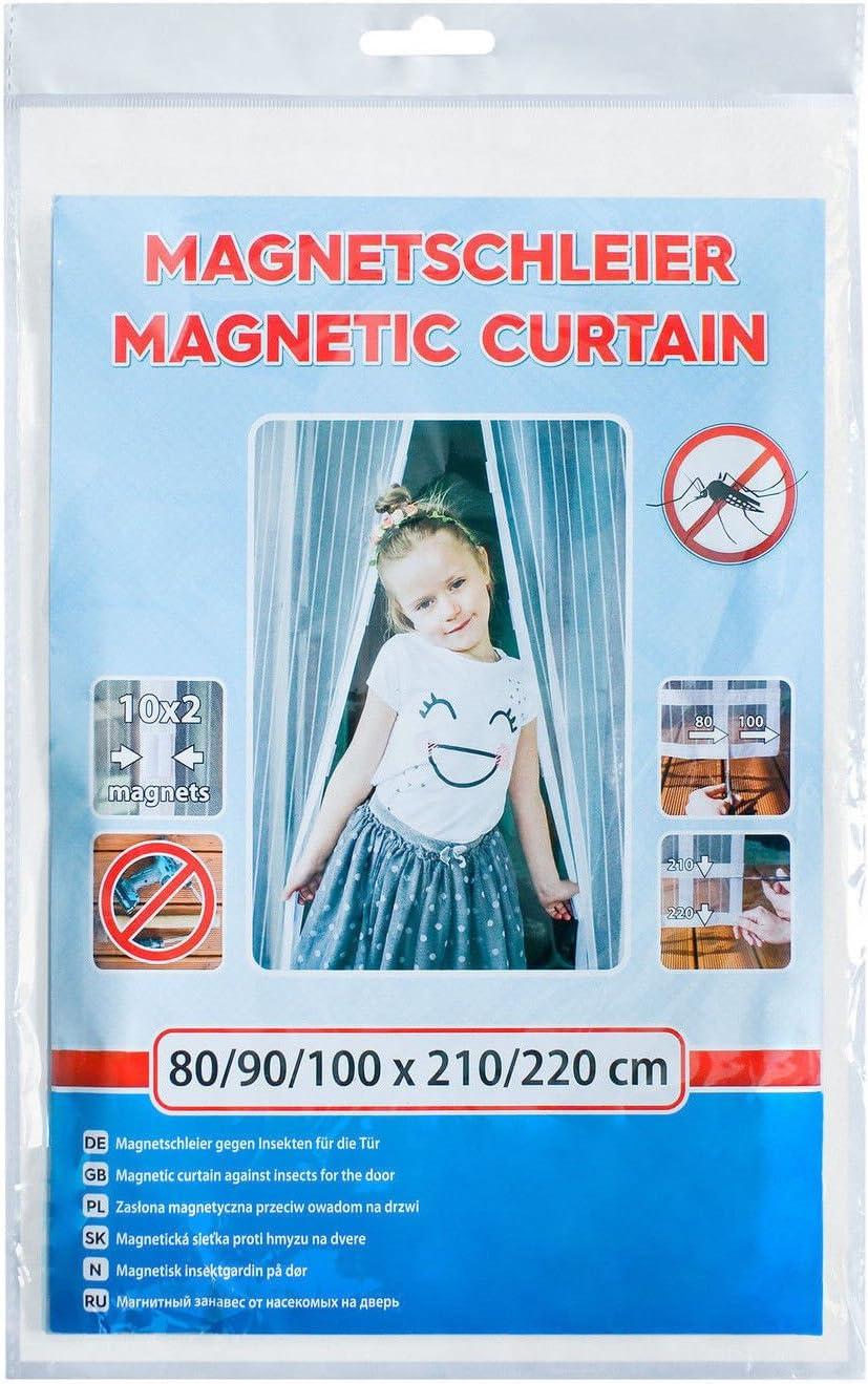 magnetische Adsorption Luft kann frei str/ömen Insektenschutz Magnet Fliegenvorhang Schwarz Auto Schlie/ßen for T/üren//Patio Flei Fliegengitter Magnetvorhang f/ür T/üren 180x220cm