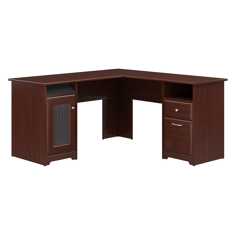 Bush Corner Desk Cherry Wood