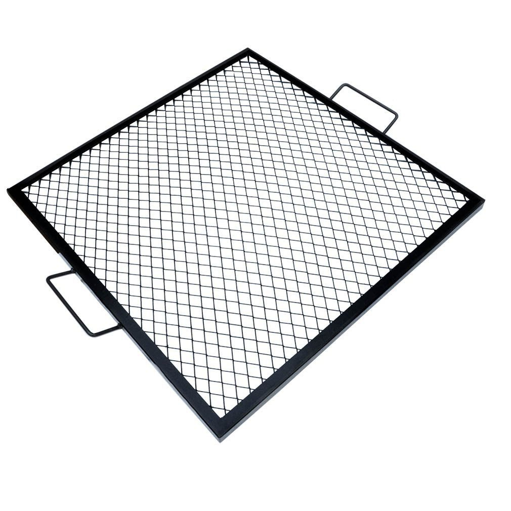 Onlyfire X-Marks Square Fire Pit Cooking Grate, 36-Inch by only fire