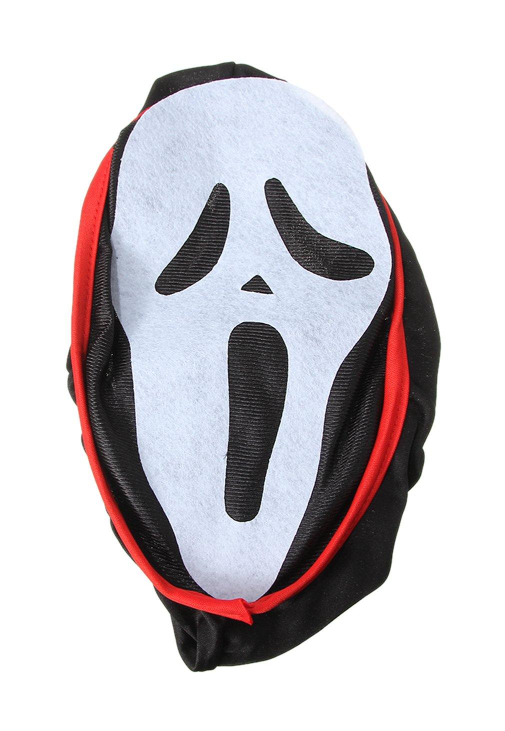 V-SOL Disfraz Con Ghost Face Máscara Abrigo Capa Cosplay Para Halloween Asia M Busto 62-72cm: Amazon.es: Juguetes y juegos