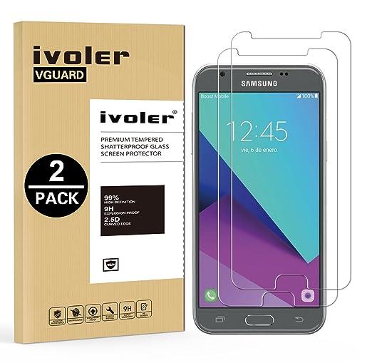14 opinioni per [2 Pack] Pellicola Vetro Temperato Samsung Galaxy J7 2017, iVoler® **