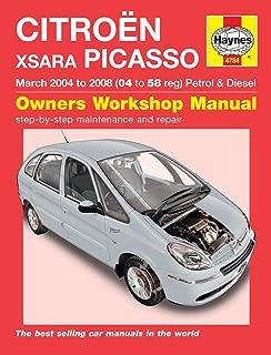 citroen xsara picasso petrol and diesel service and repair manual rh amazon co uk Citroen Xsara Picasso Exclusive Citroen Xsara Picasso Specifications