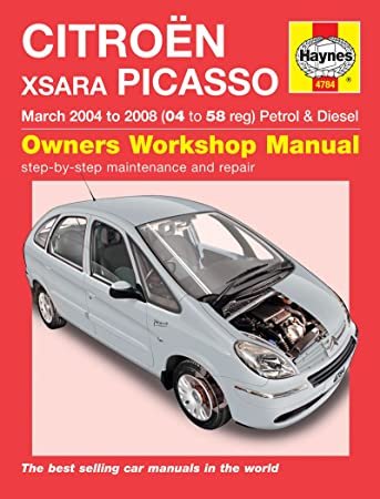 Haynes workshop manual citroen xsara picasso petrol & diesel (mar.