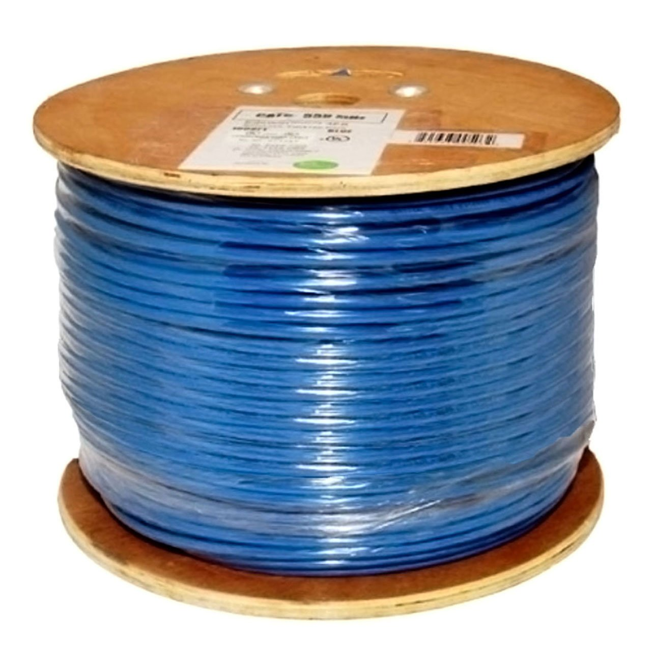 Cat6, 550 MHz, Shielded, 23AWG, 8C Solid Pure Copper, CMR, 1000ft ...
